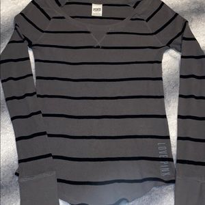PINK thermal long sleeve shirt